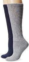 Dr. Scholl's Women's 2 Pack Diabetic and Circulatory Knee High Socks