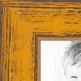 ArtToFrames 6x25 inch Butterscotch Rustic Barnwood Wood Picture Frame, 2WOM0066-1343-YYEL-6x25