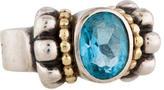 Lagos Topaz Caviar Ring