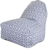 Majestic Home Kick-It Chair Gray Aruba