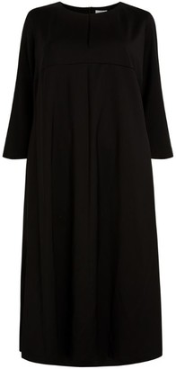 Marina Rinaldi Wool Midi Dress