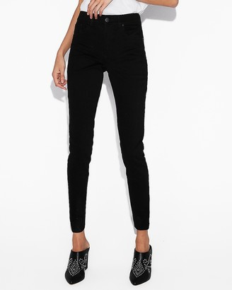 Express High Waisted Black Jean Leggings