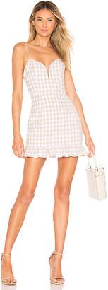superdown Avery Sweetheart Ruffle Dress