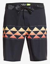 Quiksilver Men's Board Shorts BLACK - Black High Enforcer Board Shorts - Men & Big
