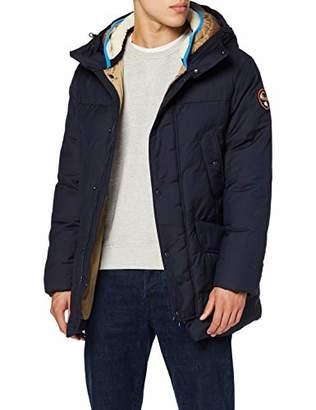 Napapijri Men's AVIO Jacket, (RED Scarlet R01), M