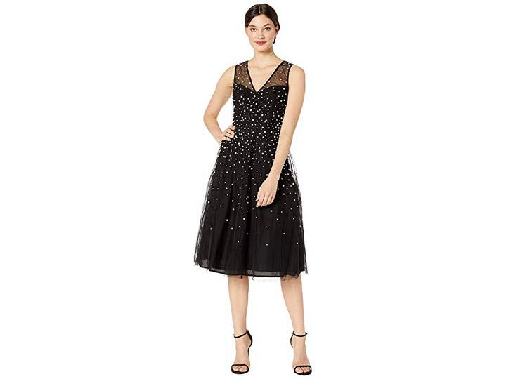 202ed3b2d7b BCBGMAXAZRIA Black Sheer Dresses - ShopStyle