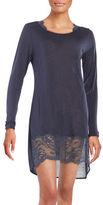 La Perla Lace-Accented Sleepshirt
