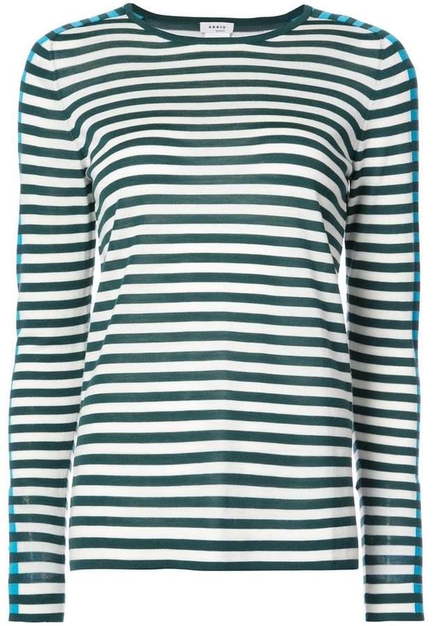 Akris Punto striped longsleeved T-shirt
