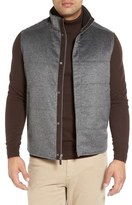 Peter Millar Greenwich Wool & Cashmere Quilted Vest
