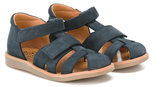 Pom D'Api touch strap sandals - kids - Leather/Artificial Leather/rubber - 22