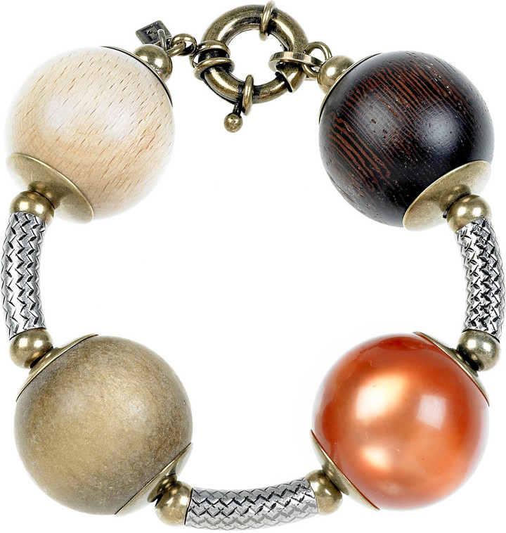 Fendi Multicolored ball bracelet