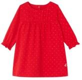 Petit Bateau Baby girls glitter polka dot dress