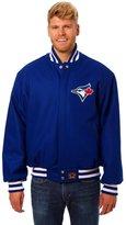 JH Design Toronto Blue Jays Wool Varsity Jacket