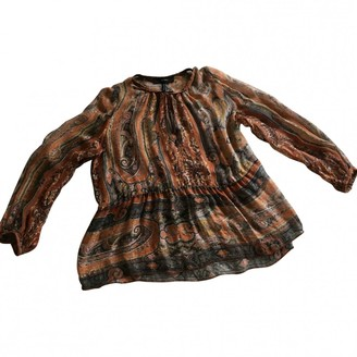 Isabel Marant Orange Silk Top for Women
