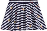 Epic Threads Striped Anchor-Print Skirt, Toddler Girls, Created for Macy's