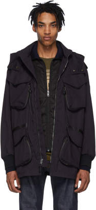 Coach 1941 Purple Army Jacket