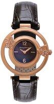 Tommy Bahama Swiss Women's TB2141 Bimini Starfish Round Brown Dial Open Rose Gold Bezel Watch