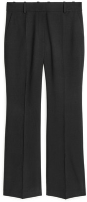 Arket Stretch-Wool Twill Trousers