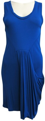 Vionnet Blue Cotton Dress for Women