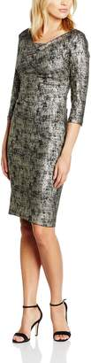 Gina Bacconi Women's Metallic Knit Dress
