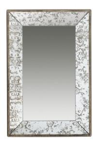 A&B Home Dorthea Rectangular Hanging Mirror, Large