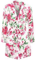 George Floral Print Dressing Gown