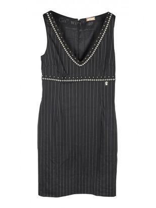 Galliano Black Wool Dress for Women