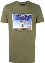 Blood Brother explosion print T-shirt