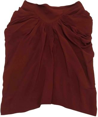 Isabel Marant Burgundy Skirt for Women