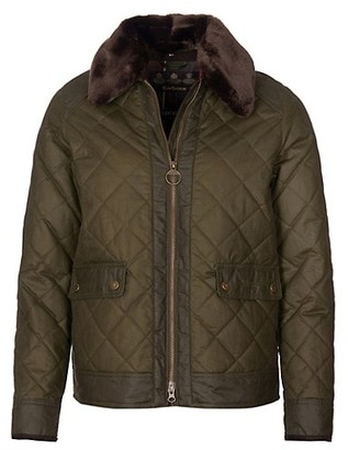 Barbour Glencoe Quilted Wax Jacket