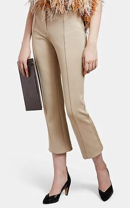 Givenchy Women's Compact Knit Crop Pants - Beige, Tan