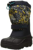 Columbia Kids' Childrens Powderbug Plus II Print-K Snow Boot