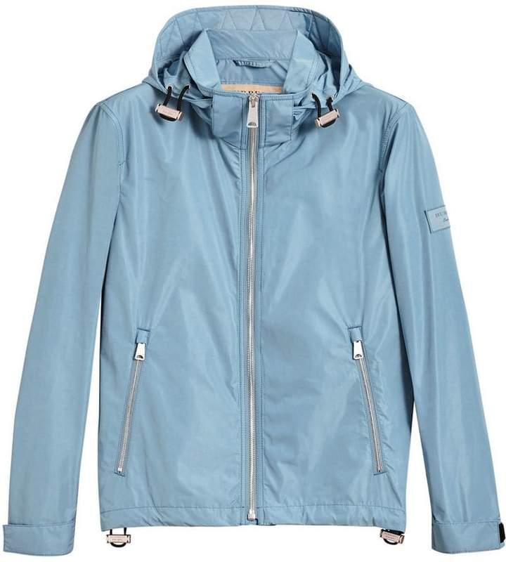 Burberry packaway hood showerproof jacket
