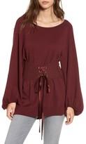 Leith Women's Corset Tunic Sweater