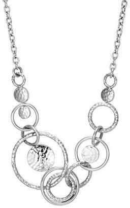 """John Hardy Sterling Silver Dot Multi-Link Necklace, 18"""""""