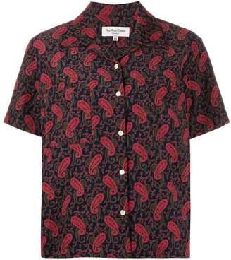 YMC paisley short-sleeve shirt