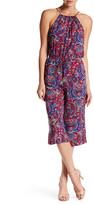 Splendid Kloe Paisley Print Crop Jumpsuit