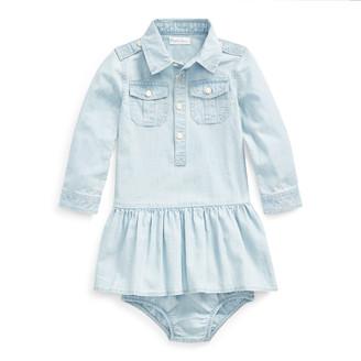 Ralph Lauren Cotton Chambray Shirtdress