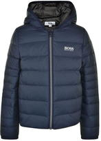 BOSS Quilted Hooded Jacket