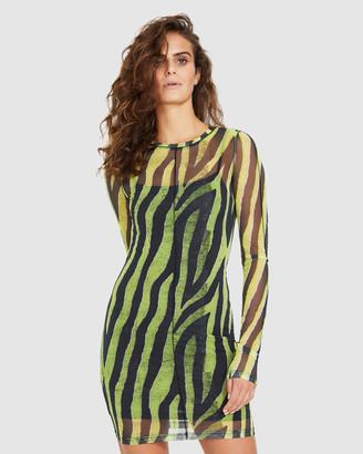 Ksubi Animal Mesh Dress