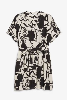 Monki Mini shirt dress