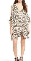Show Me Your Mumu Cheetah Cold Shoulder Dress