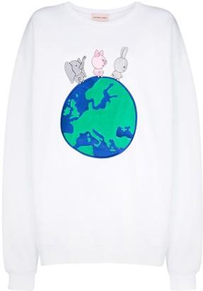 Natasha Zinko Embroidered Sweatshirt