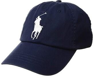 Polo Ralph Lauren Big Pony Chino Cap (Newport Navy) Caps
