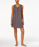 Charter Club V-Neck Printed Chemise, Only at Macy's