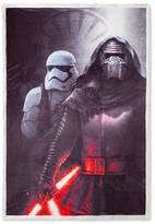 "Star Wars Kylo Ren Sherpa Bed Blanket (60""x90"") Gray"
