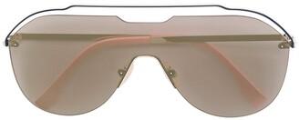Fendi Eyewear Aviator Frame Sunglasses