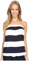 Allen Allen Stripe Tube Top