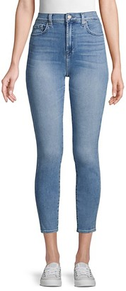 7 For All Mankind Gwenevere High-Rise Skinny Ankle Jeans