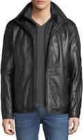 Andrew Marc Hartz Smooth Leather Jacket